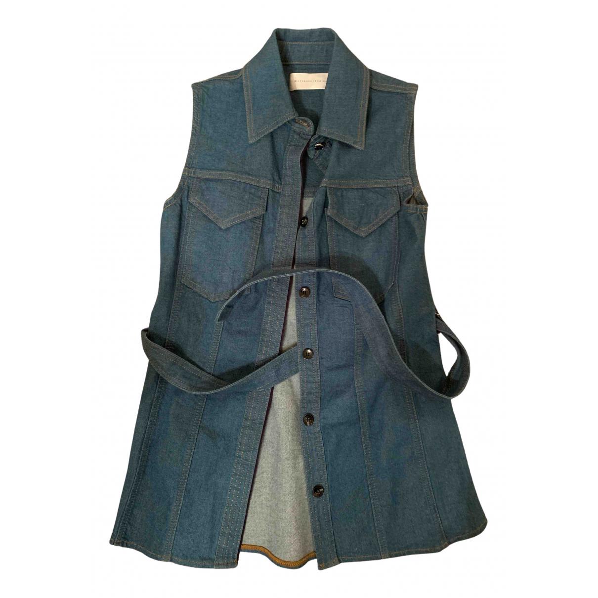 Victoria, Victoria Beckham \N Jacke in  Blau Denim - Jeans