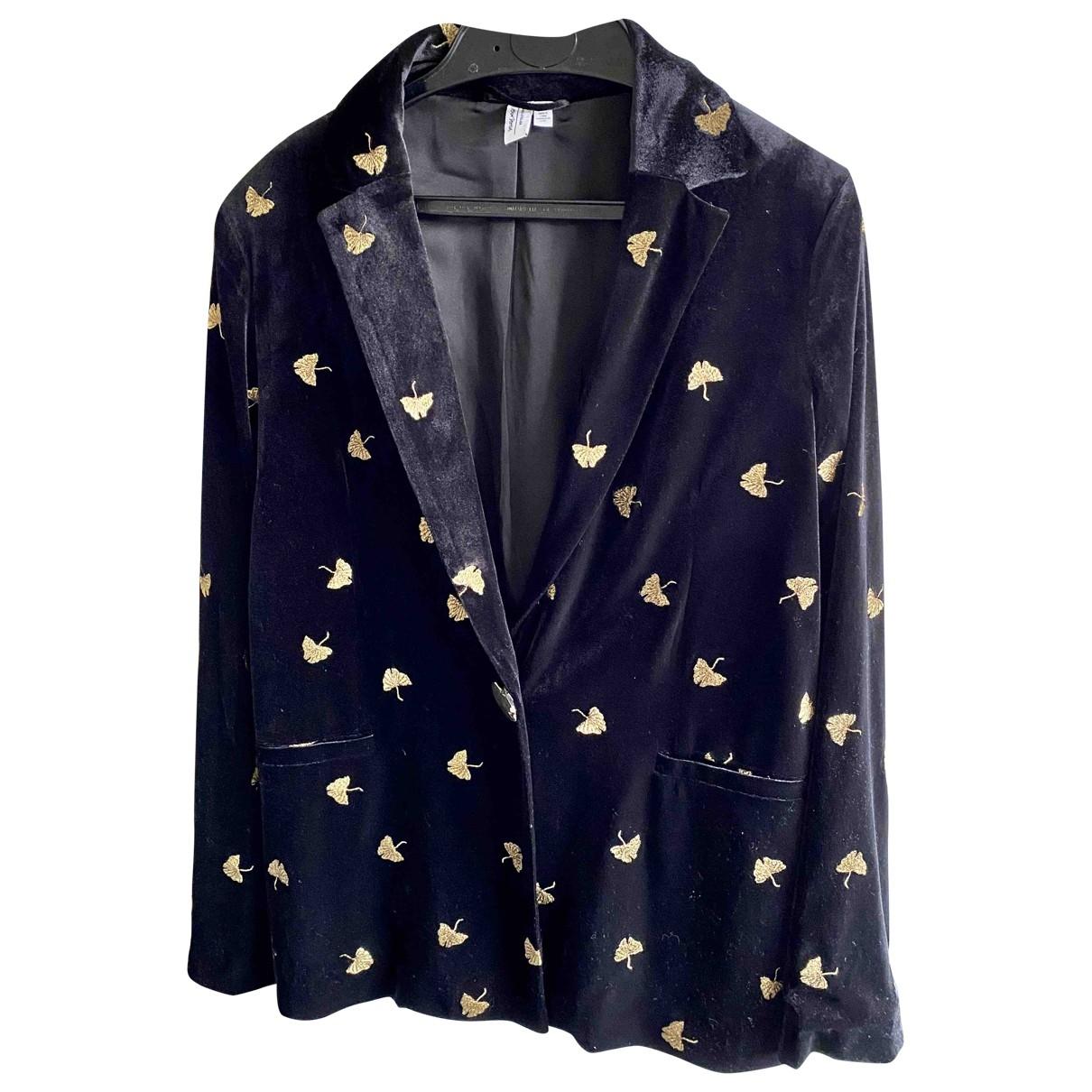 & Stories \N Black Velvet jacket for Women 38 FR