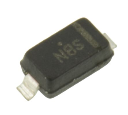ON Semiconductor ON Semi 30V 200mA, Schottky Diode, 2-Pin SOD-123 BAT54T1G (25)