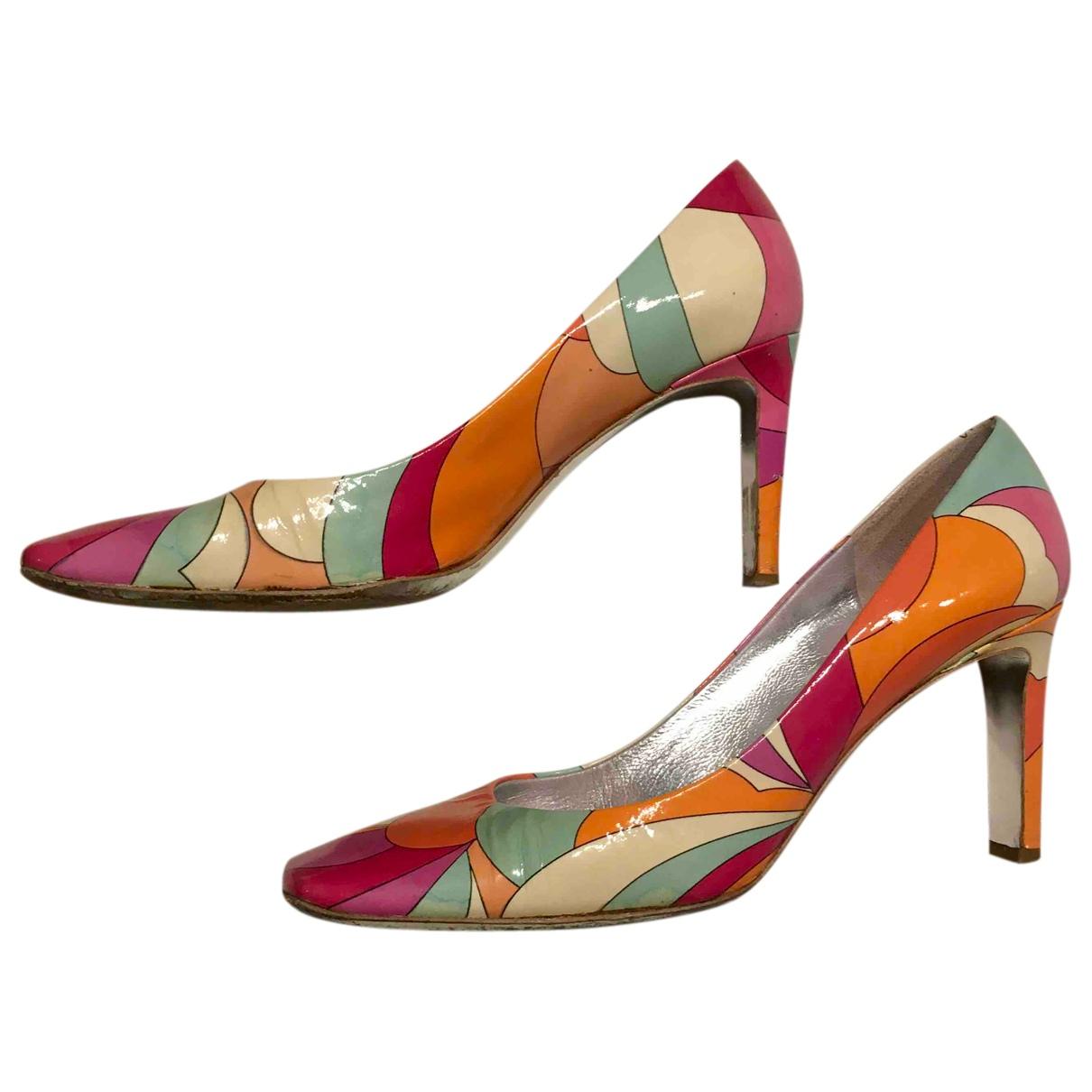 Emilio Pucci - Escarpins   pour femme en cuir - multicolore