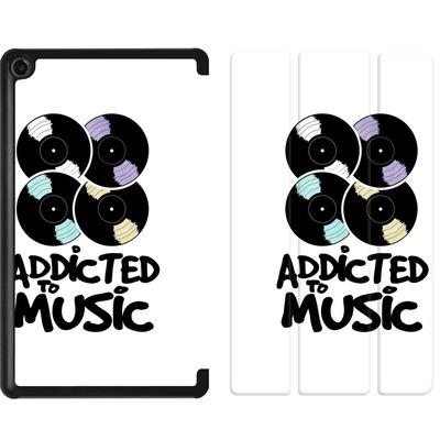 Amazon Fire 7 (2017) Tablet Smart Case - Addicted To Music von Claus-Peter Schops