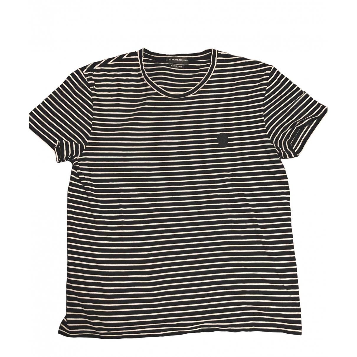 Alexander Mcqueen - Tee shirts   pour homme en coton - noir