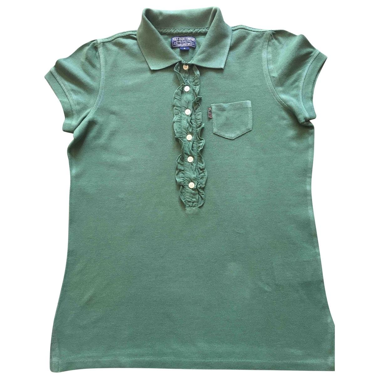 Polo Ralph Lauren \N Green Cotton  top for Women S International