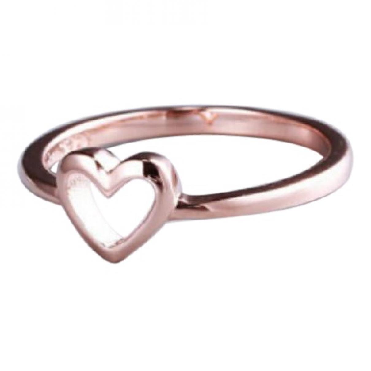 - Bague Motifs Coeurs pour femme en metal - dore