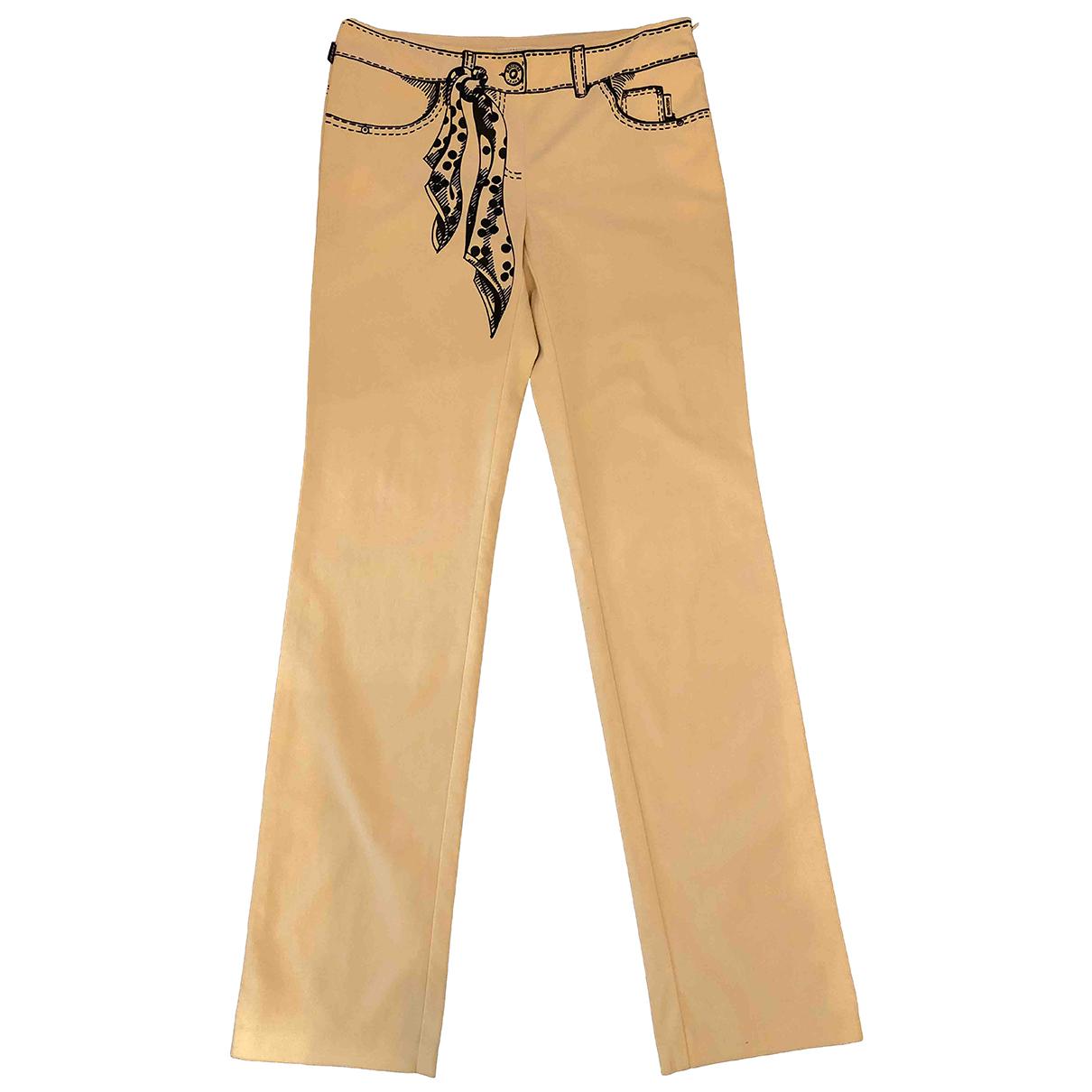 Pantalon recto Moschino
