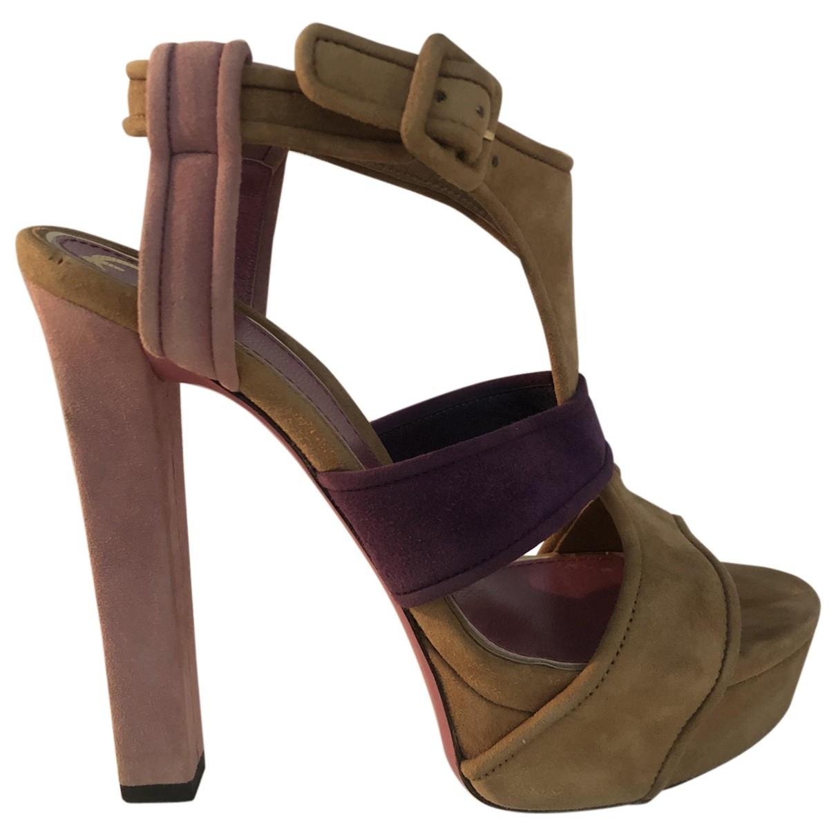 Sandalias romanas Gucci