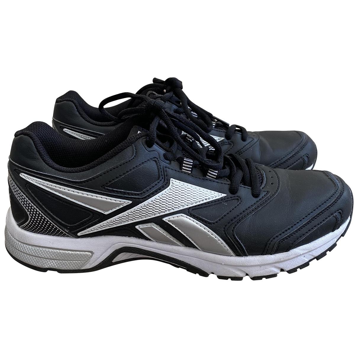 Reebok \N Sneakers in  Schwarz Leder