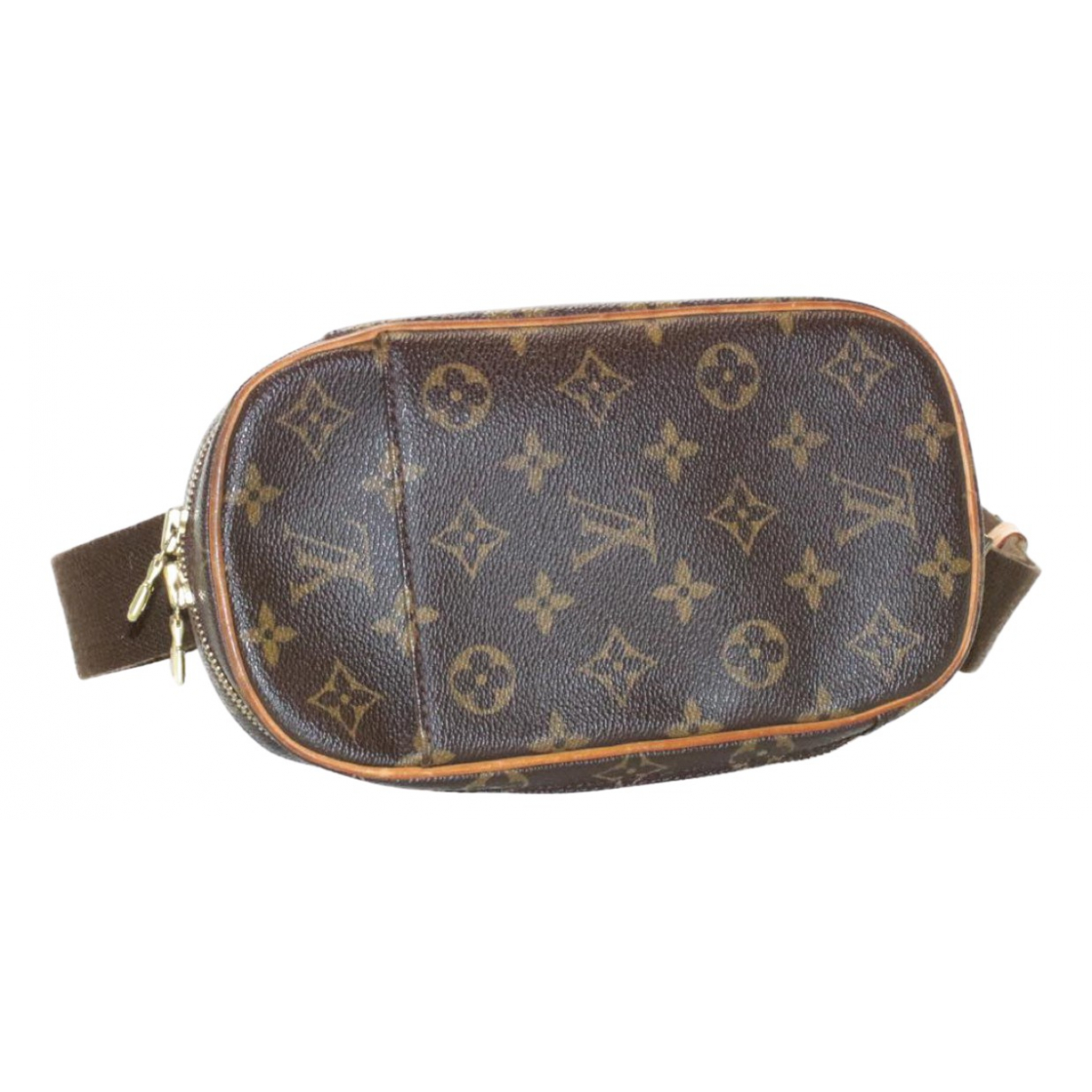 Louis Vuitton Gange  Brown Cloth bag for Men N