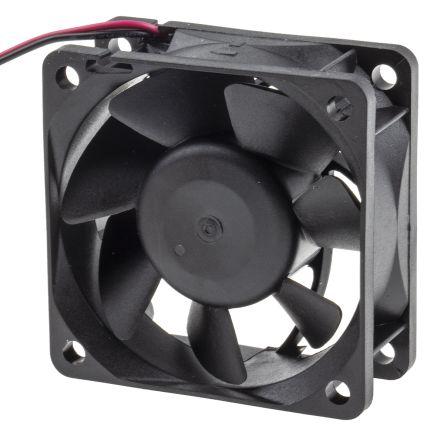 RS PRO , 24 V dc, DC Axial Fan, 60 x 60 x 25mm, 28cfm, 3.9W