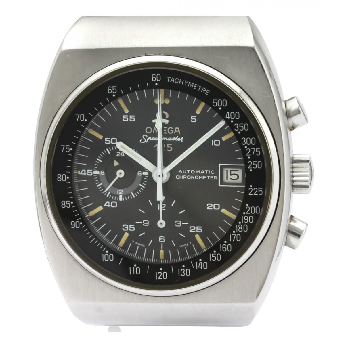 Omega Seamaster Uhr in  Schwarz Stahl