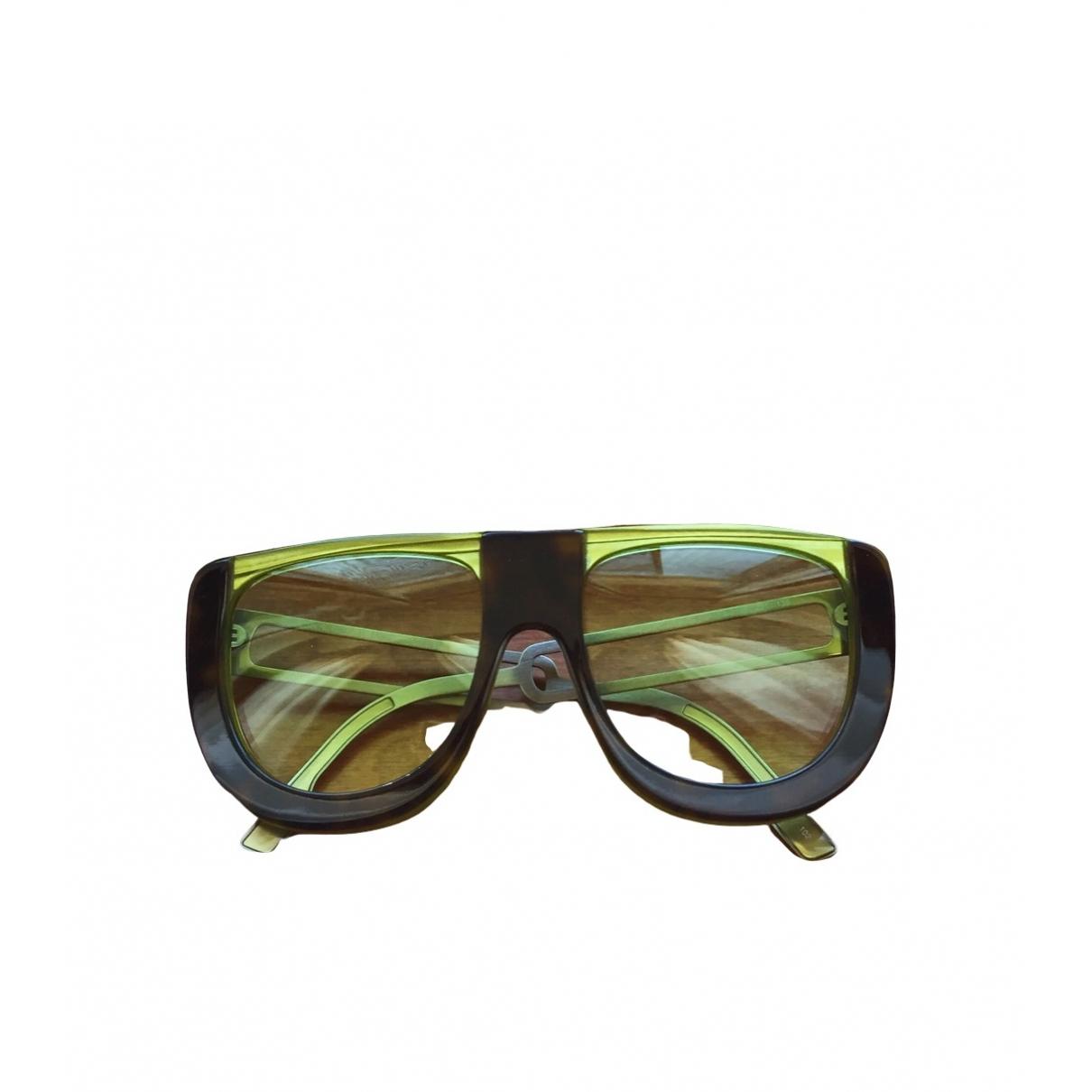 Fendi \N Green Sunglasses for Women \N