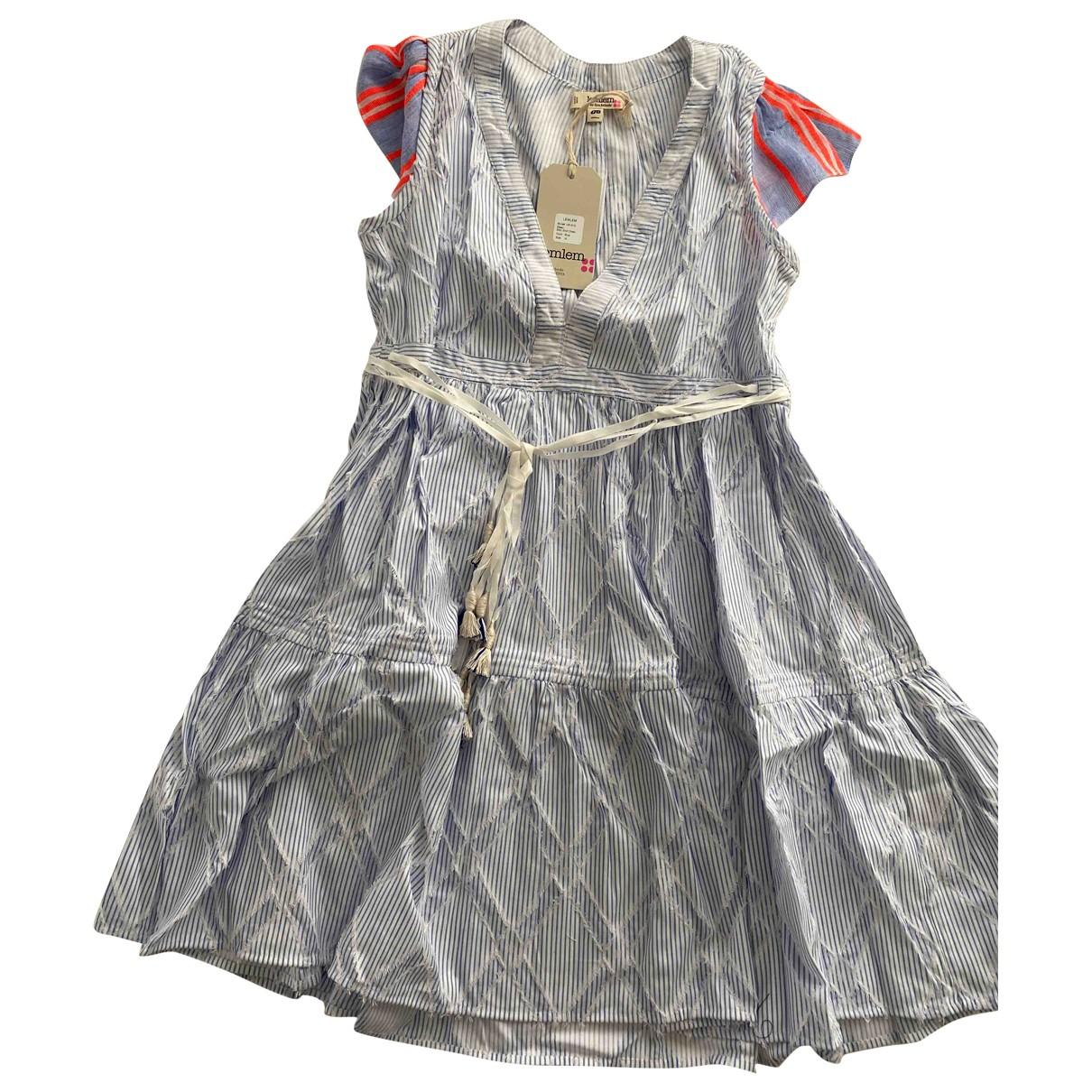 Lemlem \N Kleid in  Blau Baumwolle