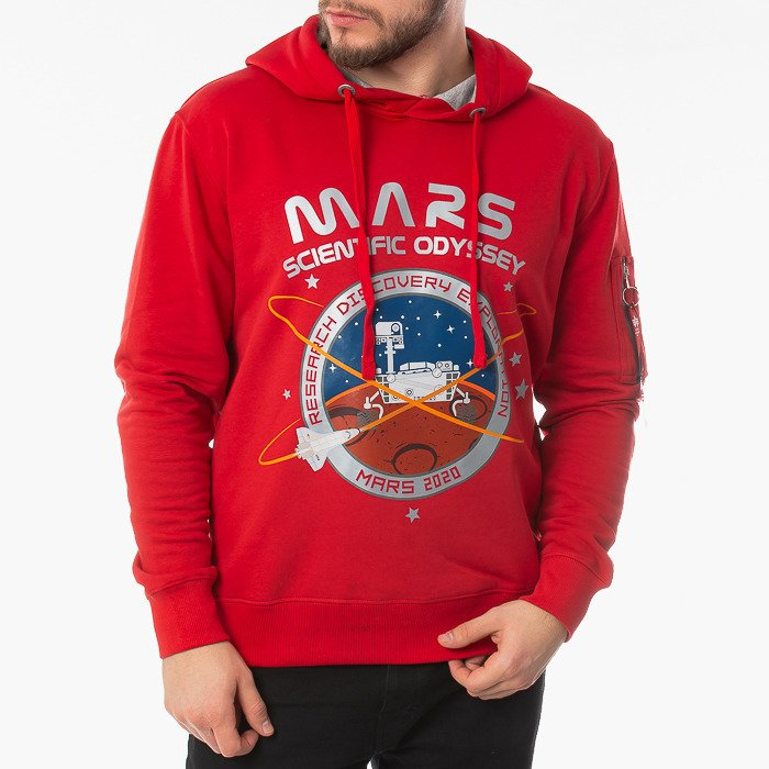 Alpha Industries Mission To Mars Hoody 126330 328