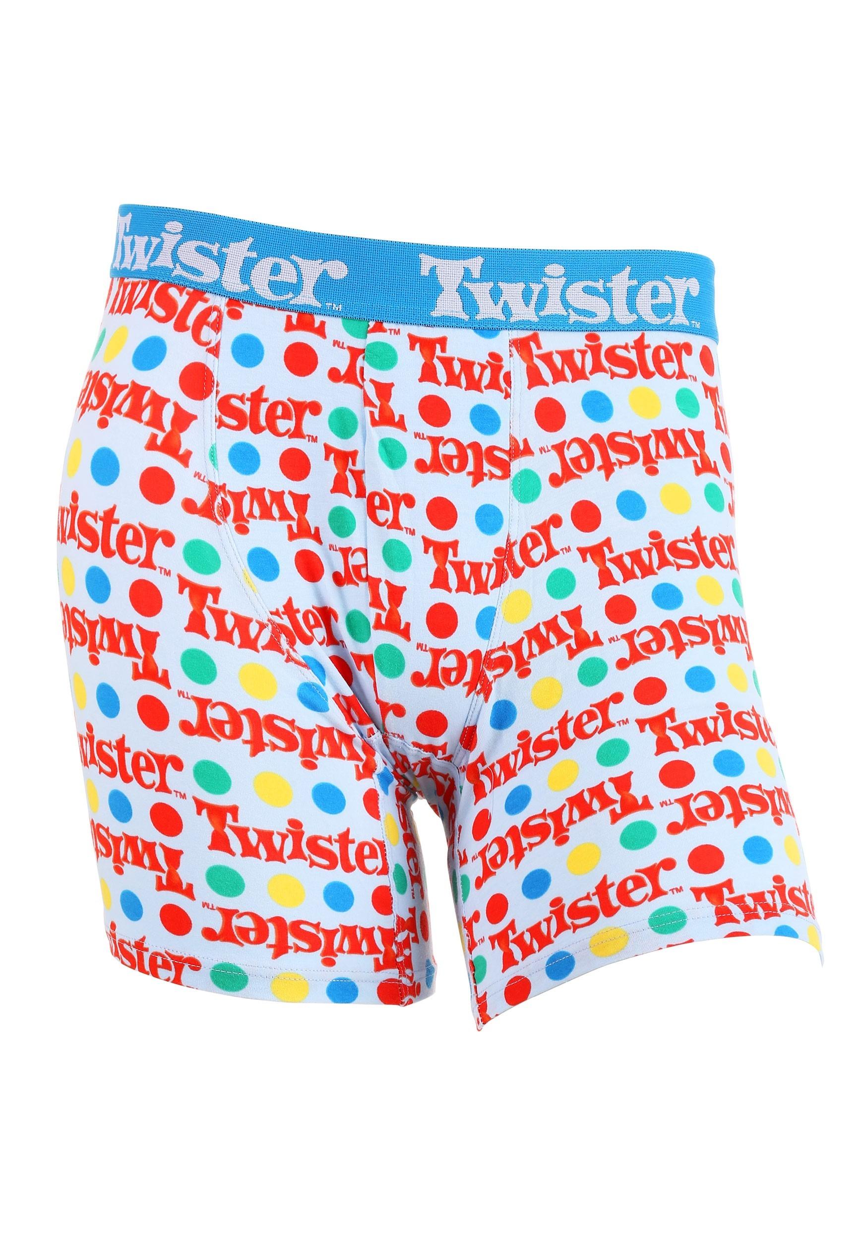 Twister Dots Boxer Briefs for Men