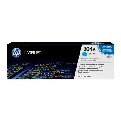 HP 304A CC531A Original Cyan Toner Cartridge