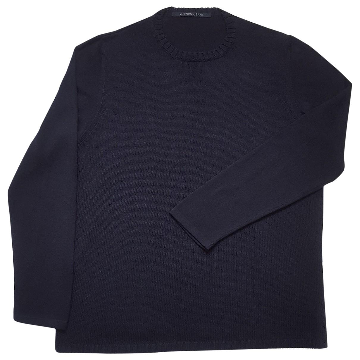 Valentino Garavani \N Blue Cotton Knitwear & Sweatshirts for Men 54 IT