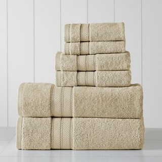 Modern Threads 6-Piece SpunLoft Towel Set (Sand)