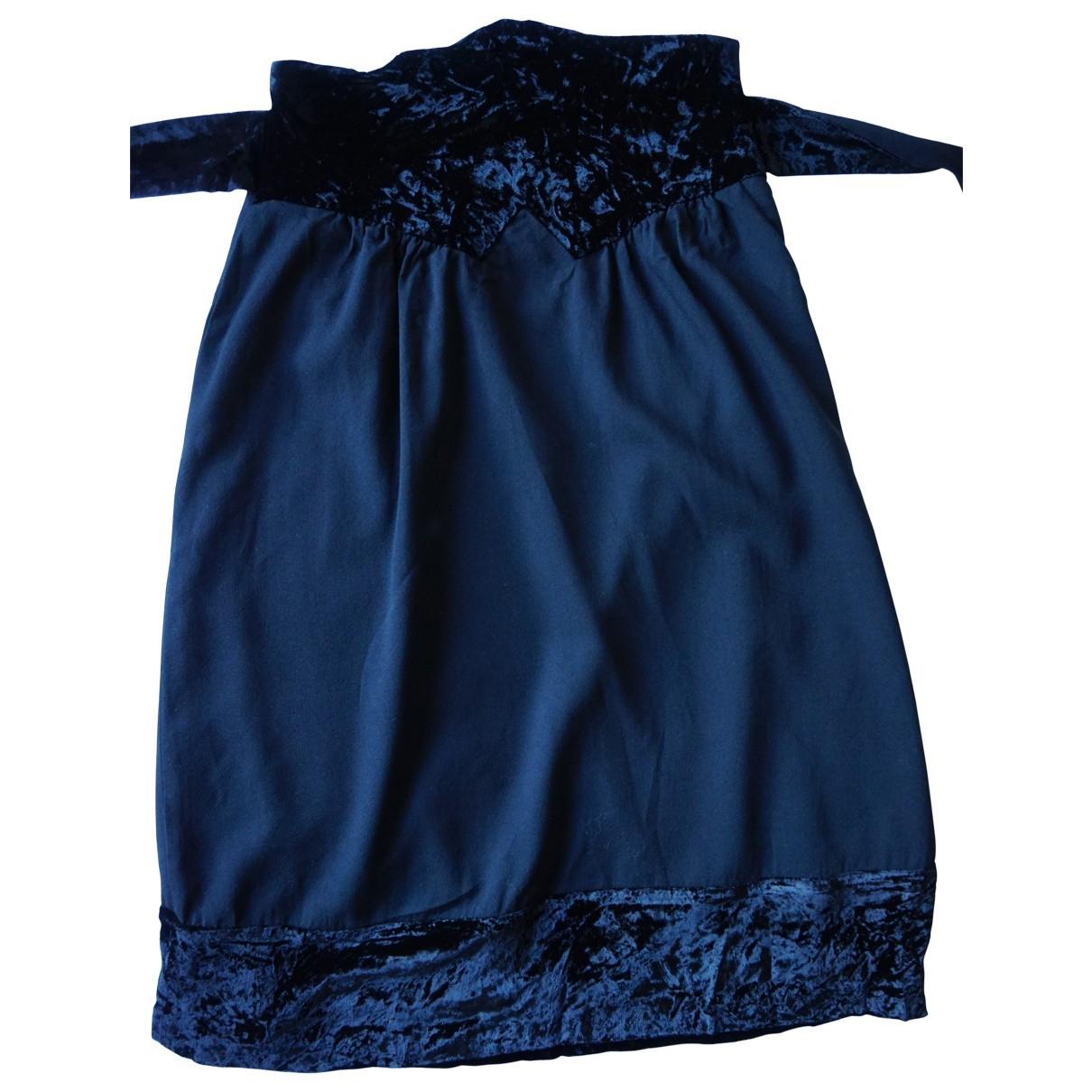 Azzaro - Jupe   pour femme en velours - noir