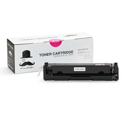 Compatible HP 410A CF413A cartouche de toner magenta - Moustache