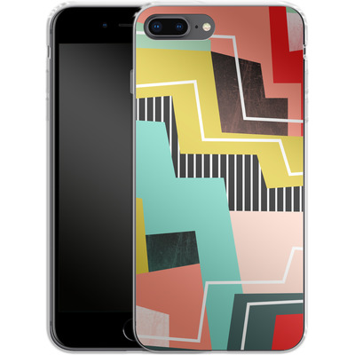 Apple iPhone 8 Plus Silikon Handyhuelle - Color Block I von Susana Paz