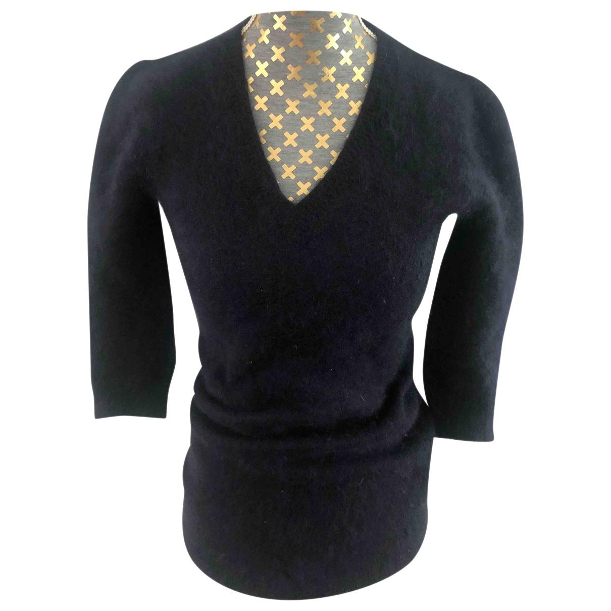 Elisabetta Franchi - Pull   pour femme en laine - bleu