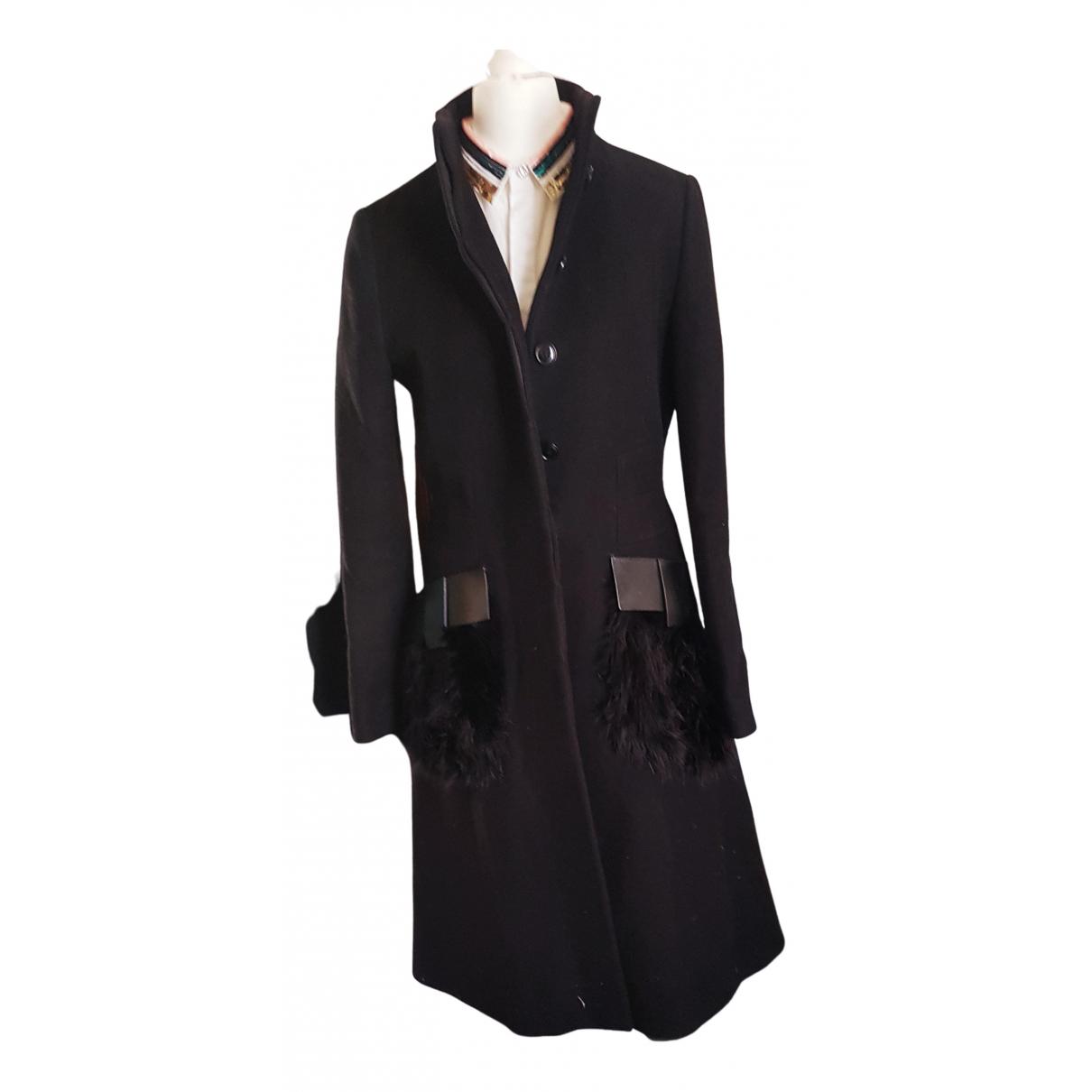 Givenchy N Black Wool coat for Women 38 FR