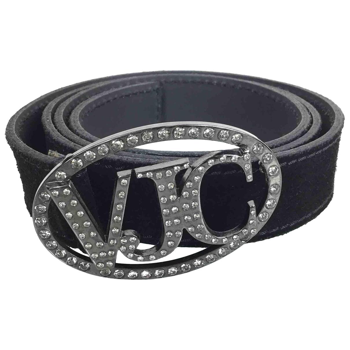 Versace \N Silver Leather belt for Women 95 cm