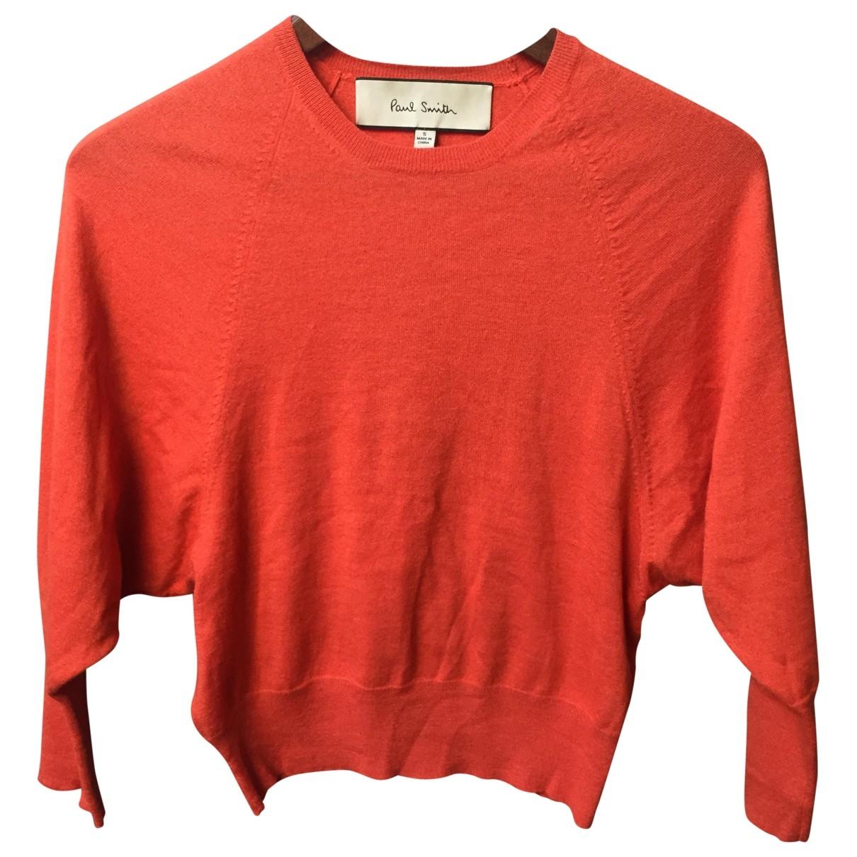 Paul Smith \N Orange Cashmere Knitwear for Women 36 FR