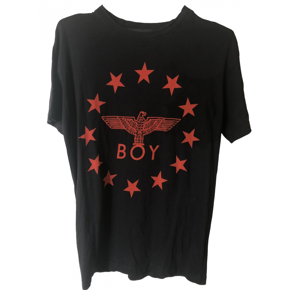 Boy London \N Black Cotton T-shirts for Men XS International
