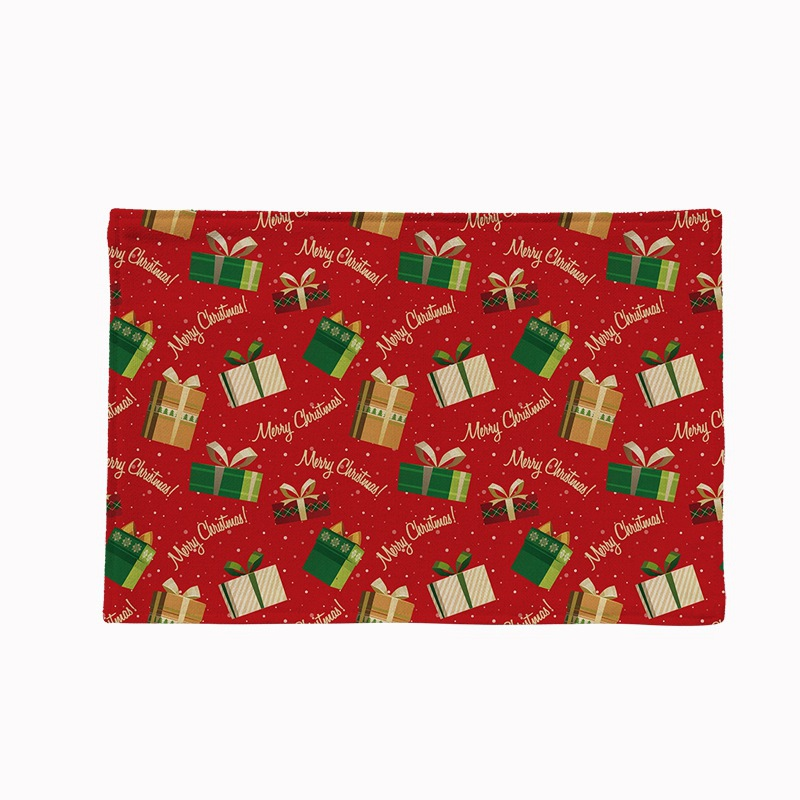 Simple Series Christmas Anti-scalding Waterproof Double Layer Placement