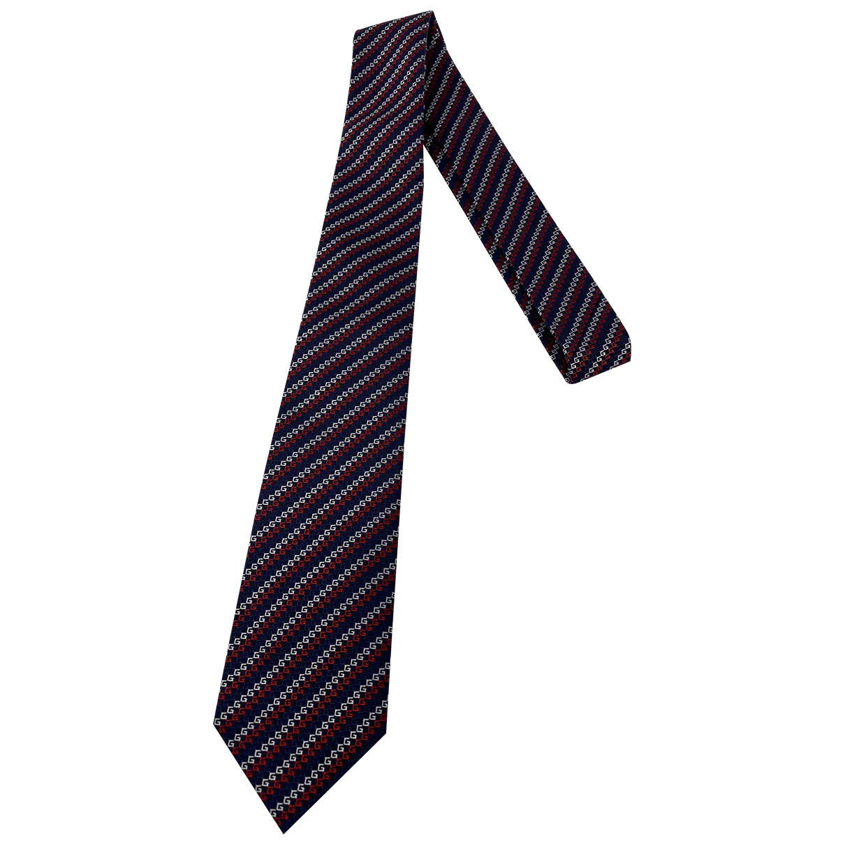 Gucci \N Krawatten in  Bunt Seide