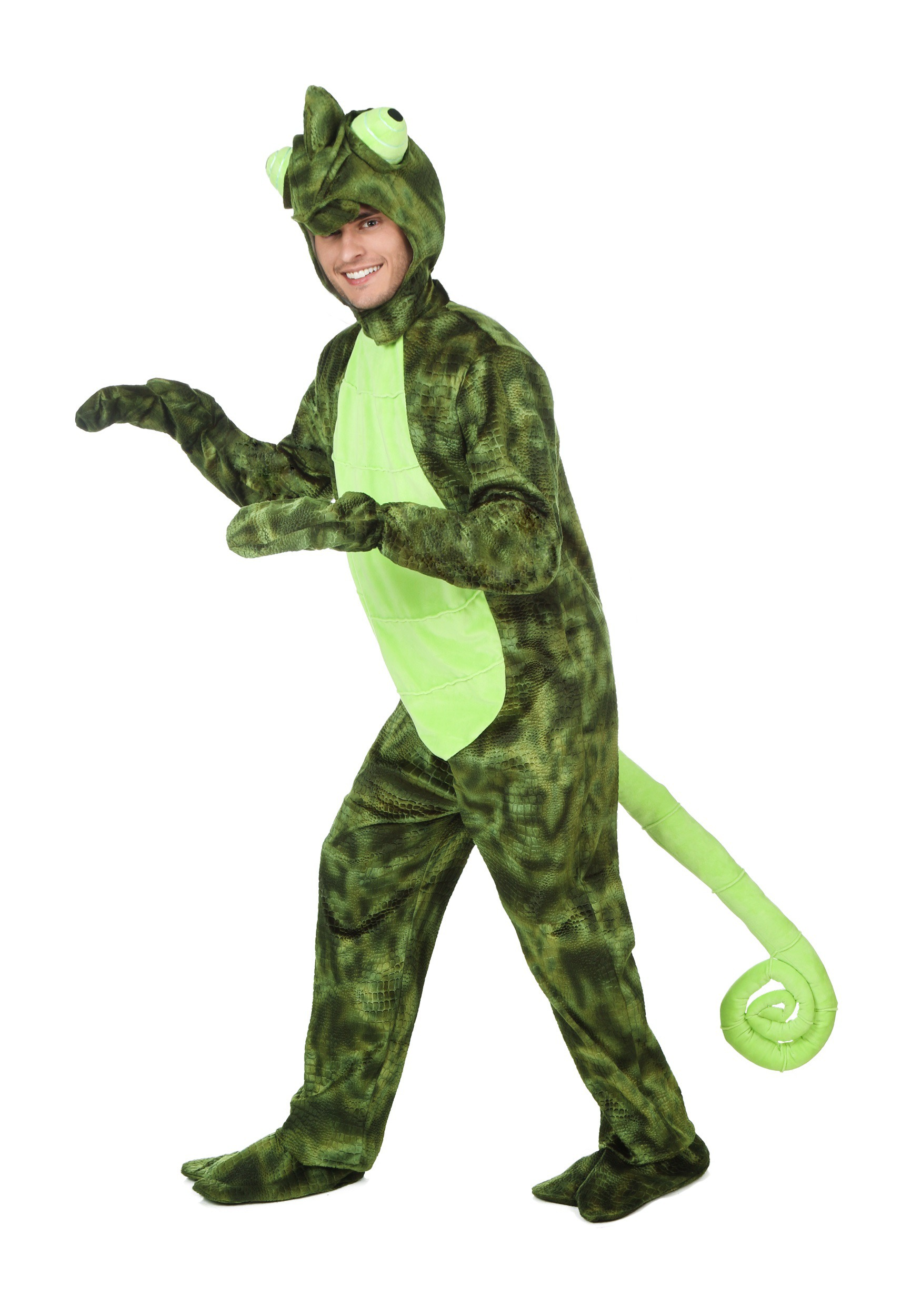 Adult Chameleon Costume | Pascal Costume