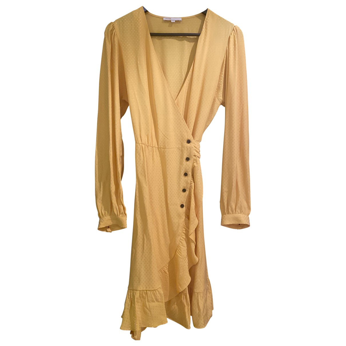 Maje - Robe Spring Summer 2020 pour femme - jaune