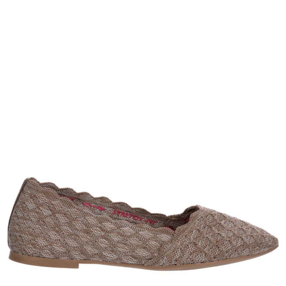 Skechers Modern Womens Cleo - Honeycomb 44882 Flats Shoes