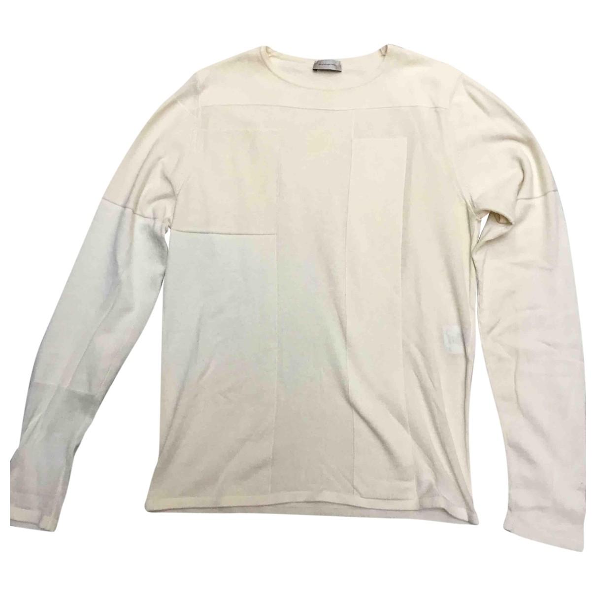 Balenciaga \N Pullover.Westen.Sweatshirts  in  Ecru Baumwolle