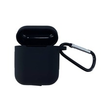Solid Color Airpods Case With Hook