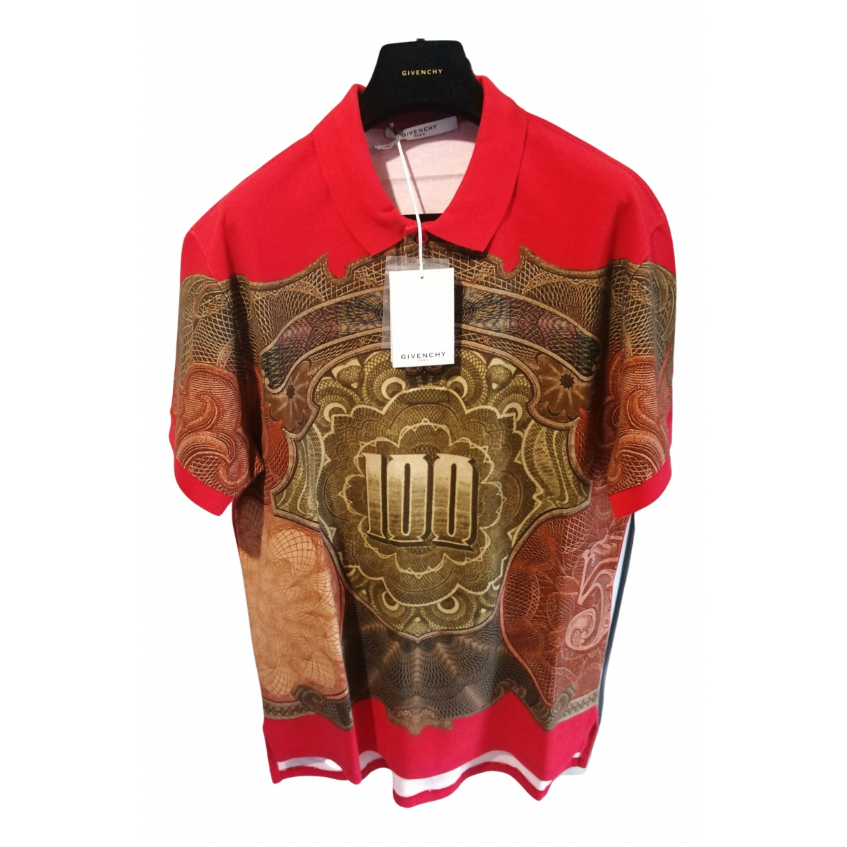 Givenchy - Polos   pour homme en coton - rouge