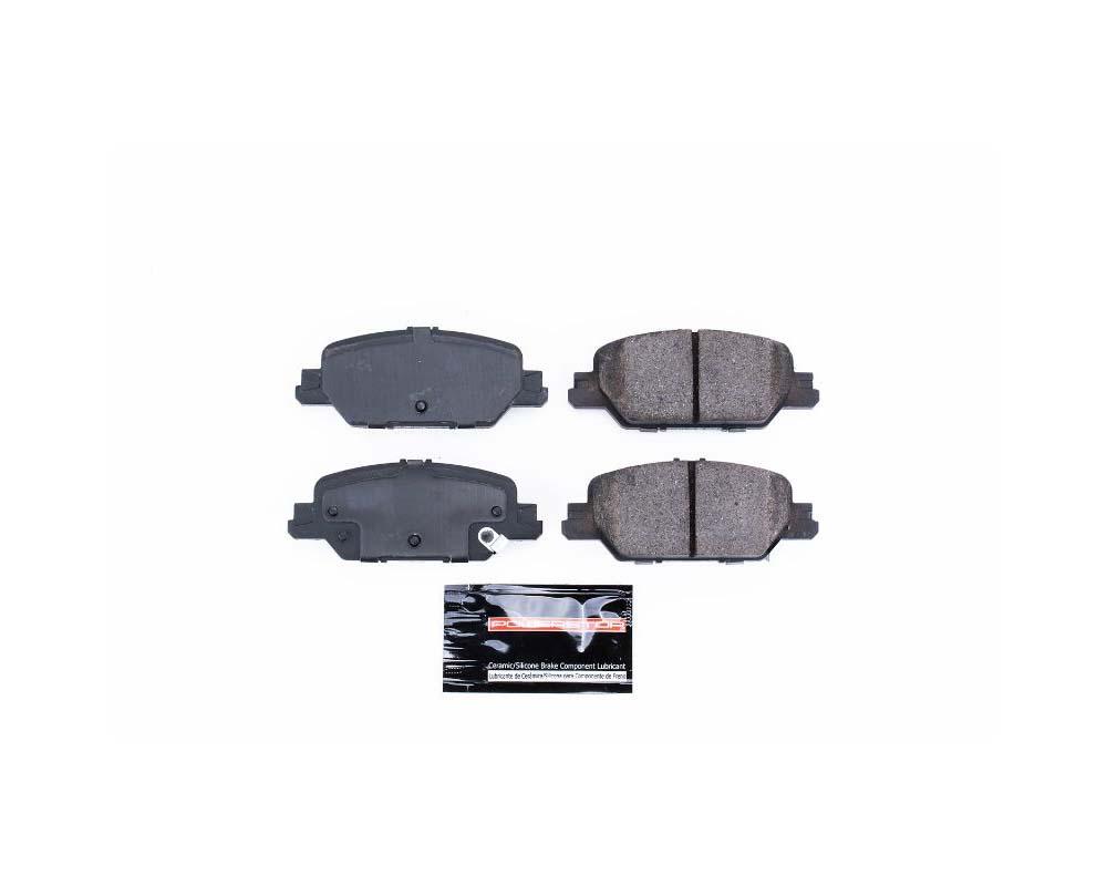 Power Stop Z23-2037 Z23 Evolution Sport Brake Pads w/Hardware Rear Honda CR-V 2017-2019