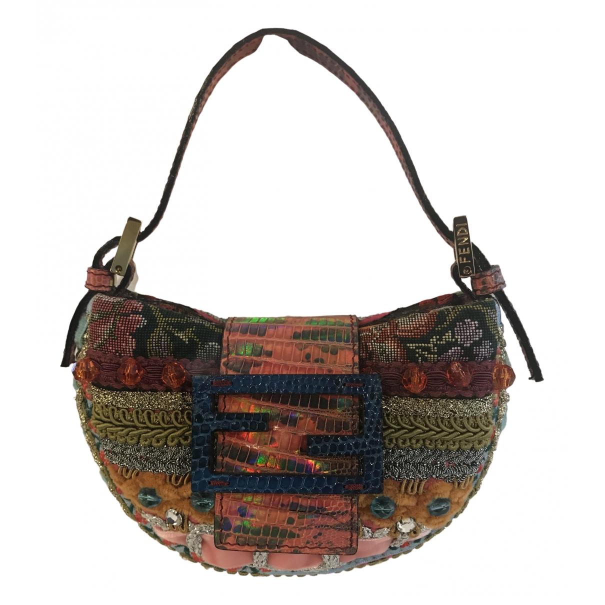 Fendi \N Multicolour Silk handbag for Women \N