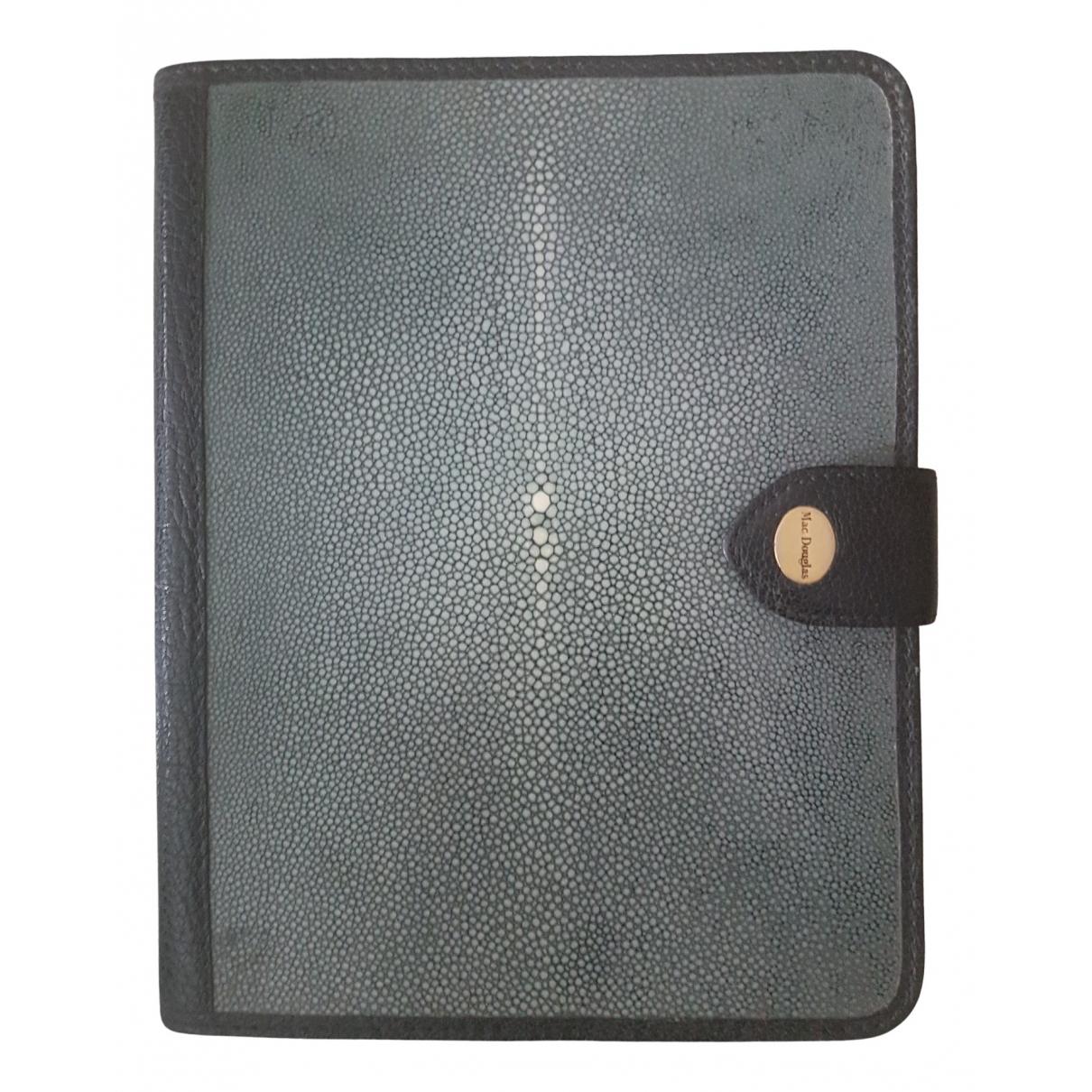 Mac Douglas - Objets & Deco   pour lifestyle en cuir - gris