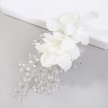 Flower Decor Hair Accessory