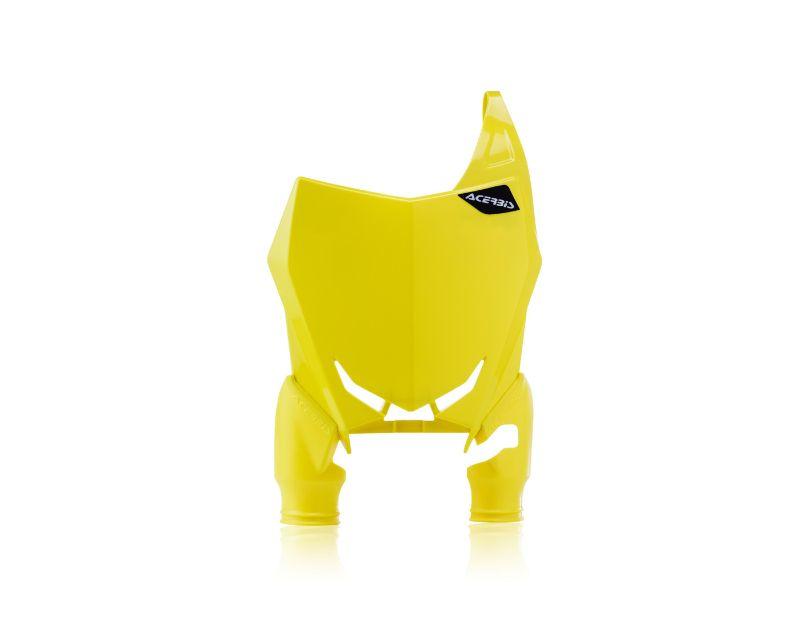 Acerbis 2689760005 Front Number Plate Yellow Suzuki RMZ450 18-20