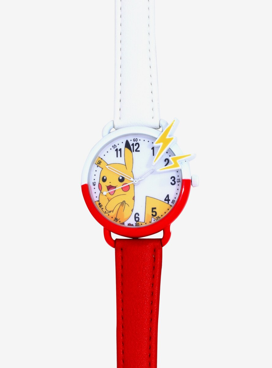 Pokemon Pikachu Lightning Bolts Watch