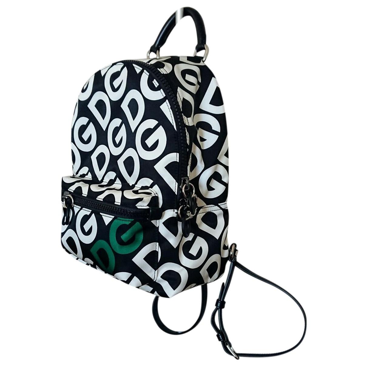 Dolce & Gabbana N Black Leather backpack for Women N