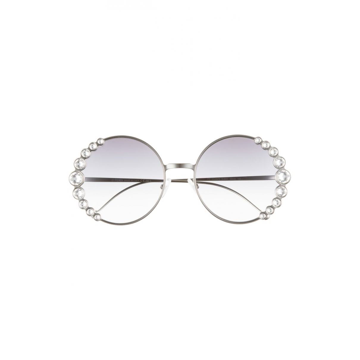 Fendi \N Silver Metal Sunglasses for Women \N