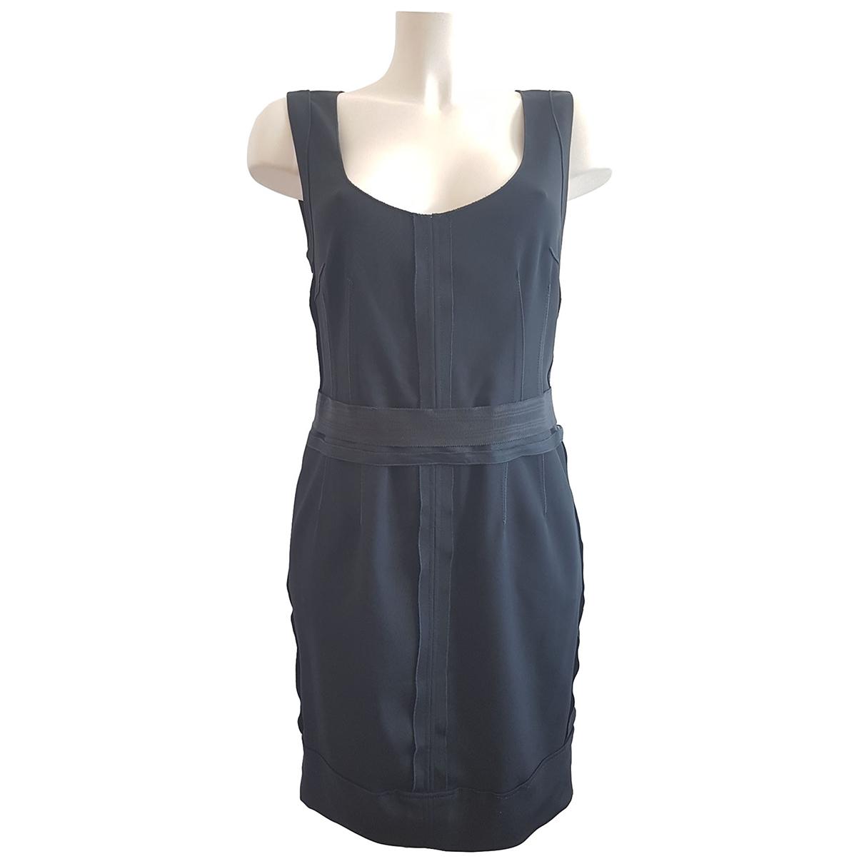 Dolce & Gabbana - Robe   pour femme en coton - elasthane - noir