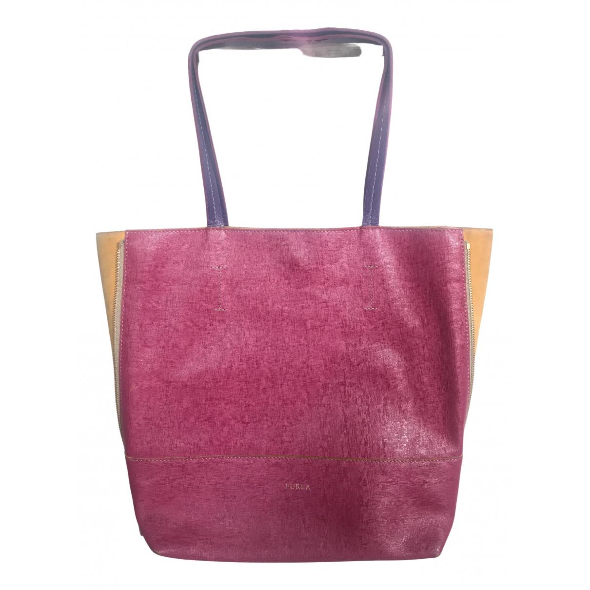 Furla \N Handtasche in  Bunt Leder