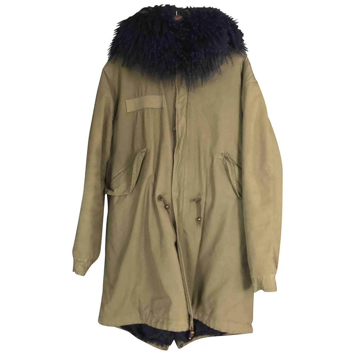 Mr & Mrs Italy \N Khaki Cotton coat for Women S International