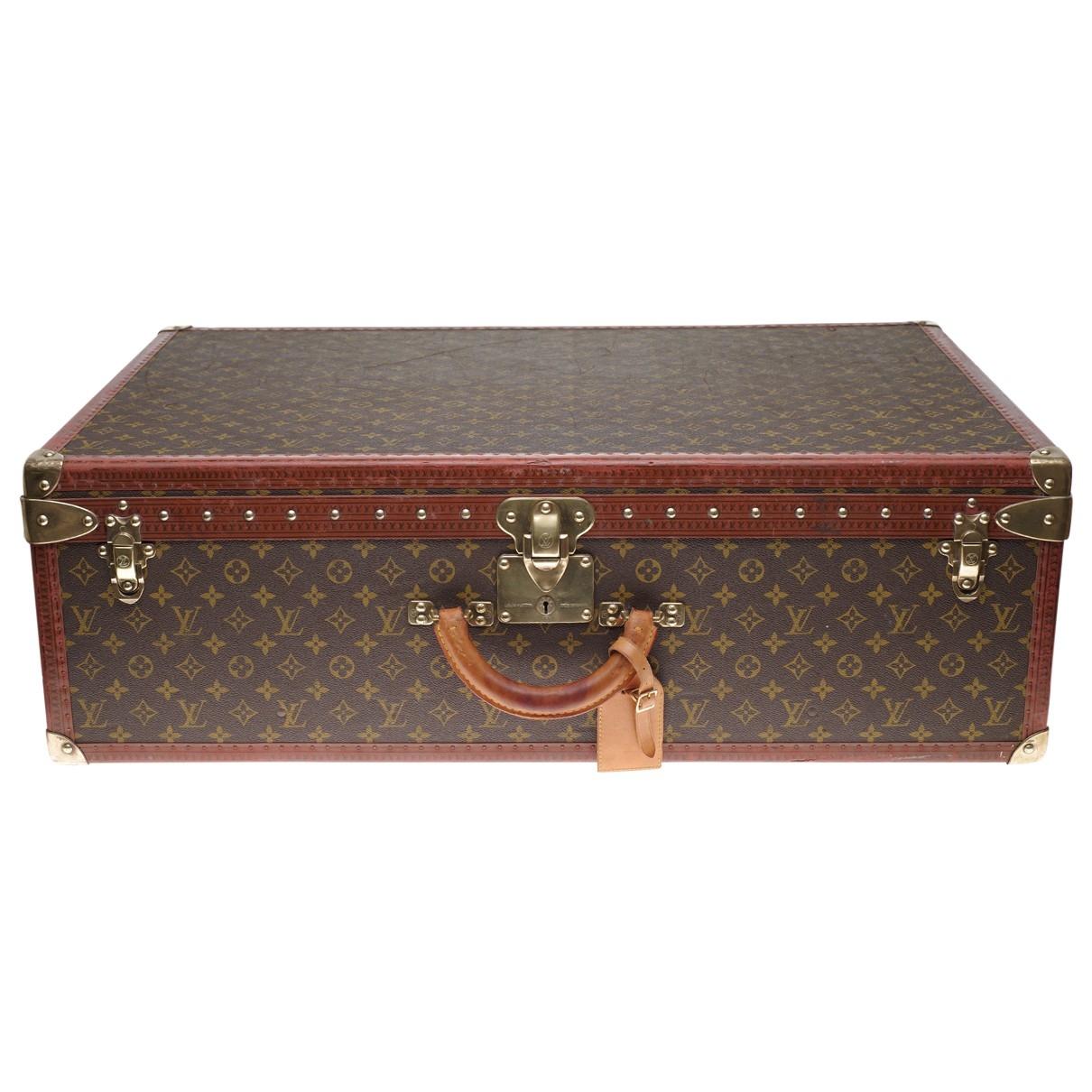 Louis Vuitton - Objets & Deco Malle Lozine pour lifestyle en toile - marron