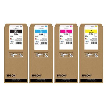 Epson R02L pack dencre Durabrite Ultra originale combo BK/C/M/Y